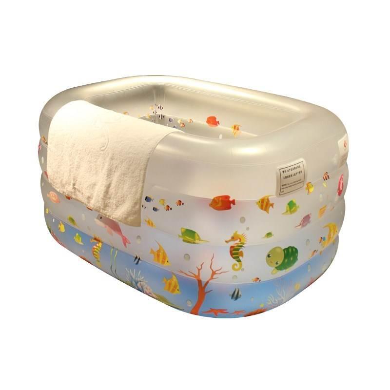 bể bơi trẻ sơ sinh Trẻ sơ sinh 0-1-2 tuổi 3-4-5-6 tháng bạn nhỏ bé Hồ bơi bơm gia dụng đồ chơi