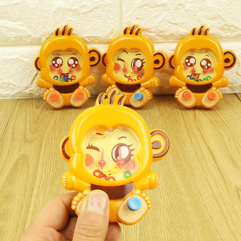 Đồ chơi sáng tạo Little khỉ máy nước đồ chơi trẻ em sáng tạo món quà nhỏ đặt vòng tròn tay cọ máy mẫ