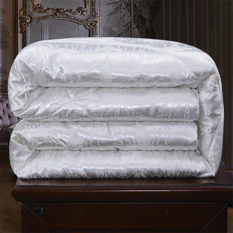 Mền tơ tằm Nhà máy chăn lụa trực tiếp là quà tặng cốt lõi mùa thu và mùa đông đang được bán trong hộ
