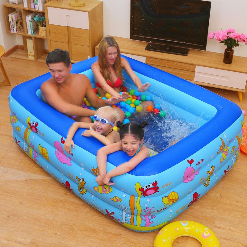SHUIDI bể bơi trẻ sơ sinh [một số lượng lớn cổ phiếu] Shui di bé hồ bơi trẻ em trẻ em nhà bé bơm hơi