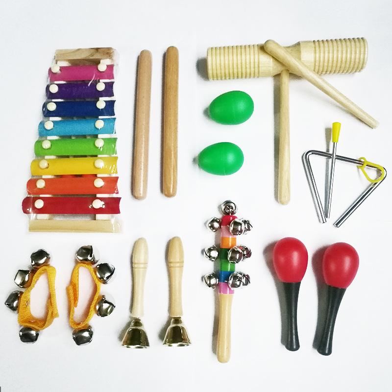 Đồ chơi giúp trẻ Thông minh : set đồ chơi 9 món nhạc cụ cho bé.