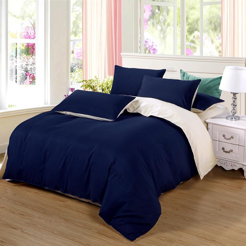 WEILIANG Thị trường đồ bộ Bộ đồ giường nhà dệt Nam Thông processing tùy chỉnh xử lý chà nhám màu rắn