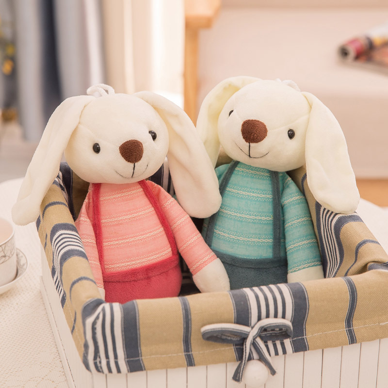 Búp bê vải Nhà máy bán buôn Búp bê thỏ dễ thương Búp bê kẹo đường mới thỏ búp bê đồ chơi sang trọng