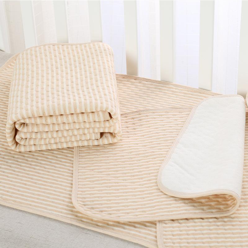 Thảm Lót sợi cotton không thấm nước cho bé  .