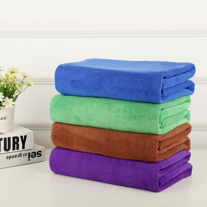 QIANXUNYU Khăn lông Nhà sản xuất bán buôn 420 g 30 * 70 microfiber khăn rửa xe làm dày thấm nước lau