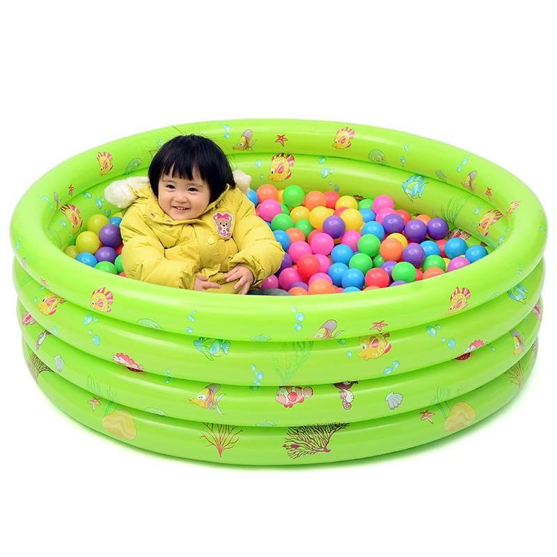bể bơi trẻ sơ sinh Dày của đại dương, trong nhà, bóng bơm hơi trẻ con đồ chơi trẻ em bể bơi trẻ em.
