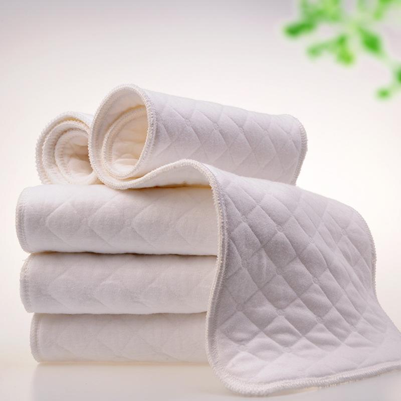 Miếng Tả vải , Tã bông cotton sinh thái ba lớp, siêu thấm cho bé