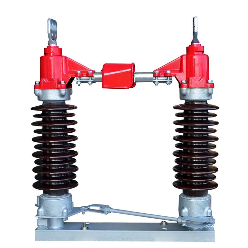 YLAC Cầu dao điện cao áp Chuyên sản xuất cổng dao cách ly điện áp cao ngoài trời GW4 35KV 1250A