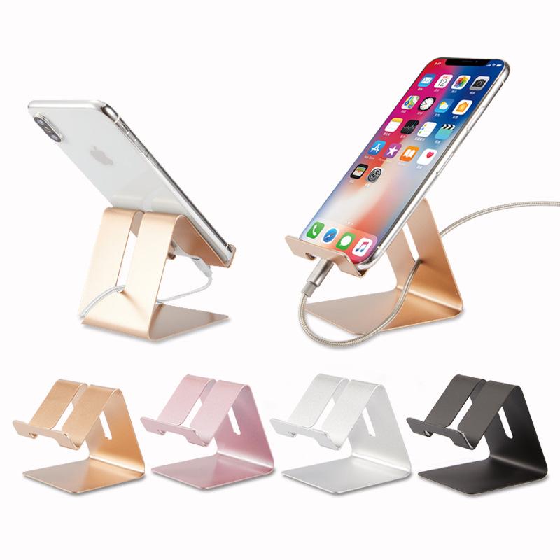 XIANGTUO phụ kiện chống lưng điện thoại Nổ điện thoại di động khung kim loại lười biếng gấp khung ph