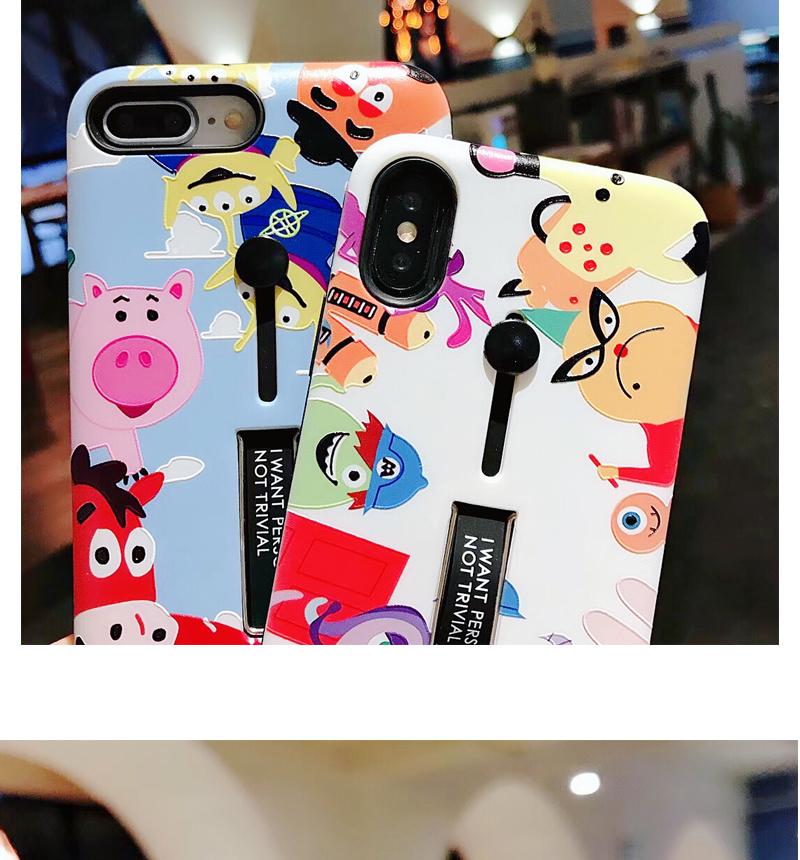 Thị trường phụ kiện di động : Ốp Lưng bảo vệ iphone hình hoạt hình .