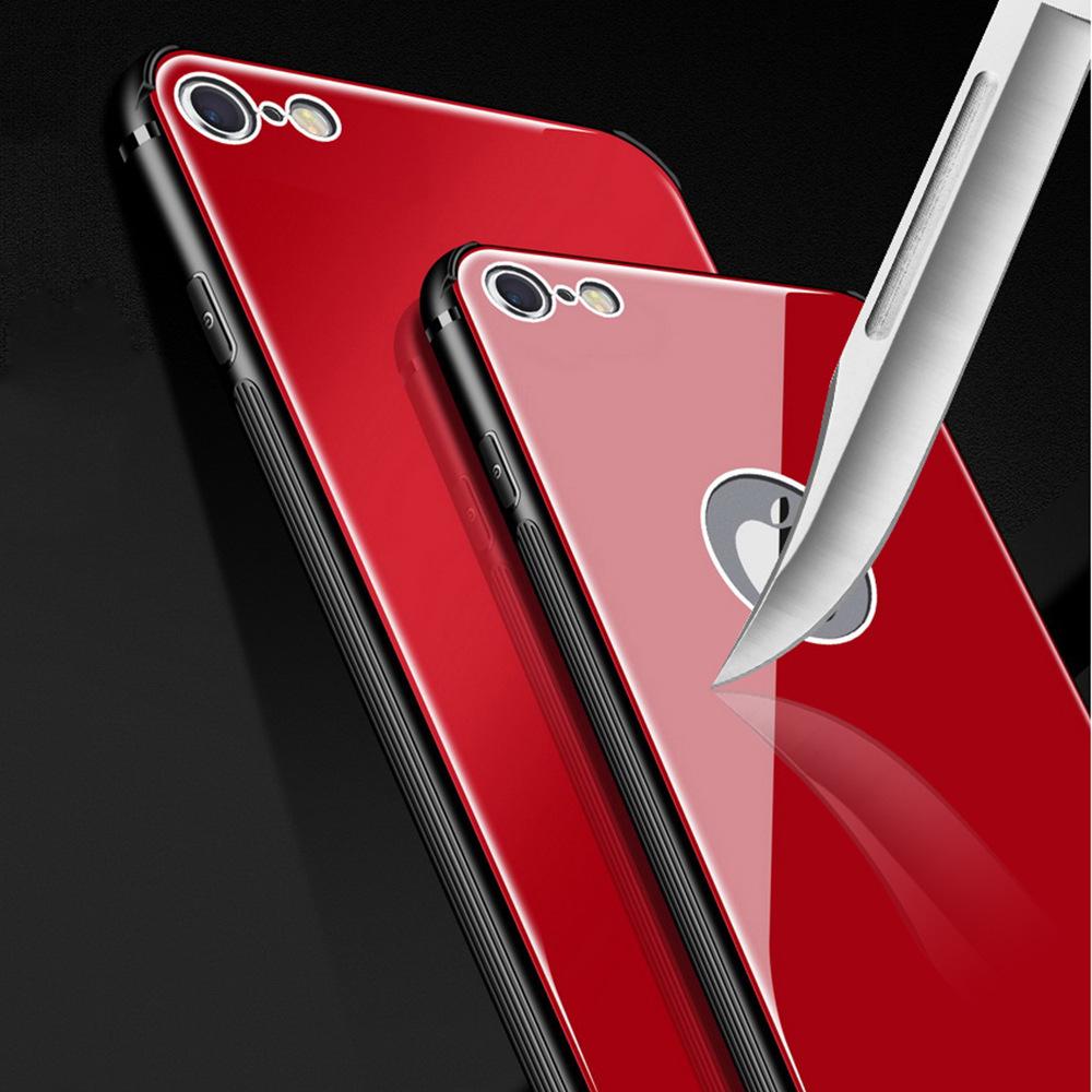 Marhook Ốp lưng Iphone 6 Áp dụng iPhone6 Mobile Shell Apple 6splus Kính cường lực Bốn góc Vỏ silicon