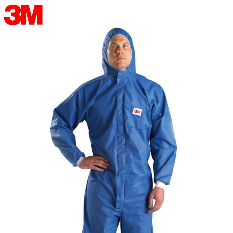 3M Trang phục bảo hộ 4532 quần áo bảo vệ virus cách ly thoáng khí phù hợp phun cát thuốc trừ sâu phu
