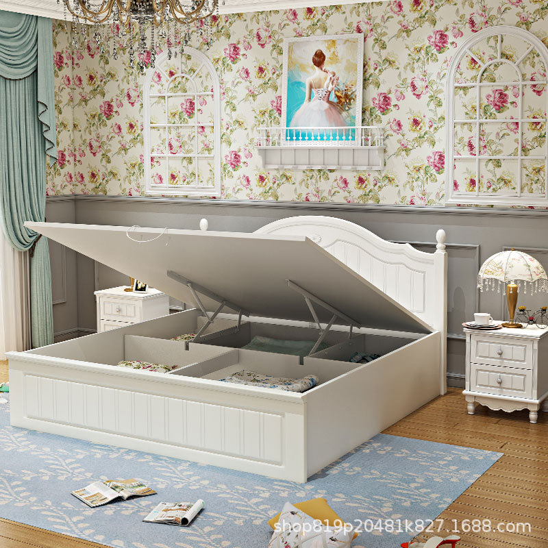 Thị trường nội thất : Bộ giường đôi thiết kế hiện đại và sang trọng.