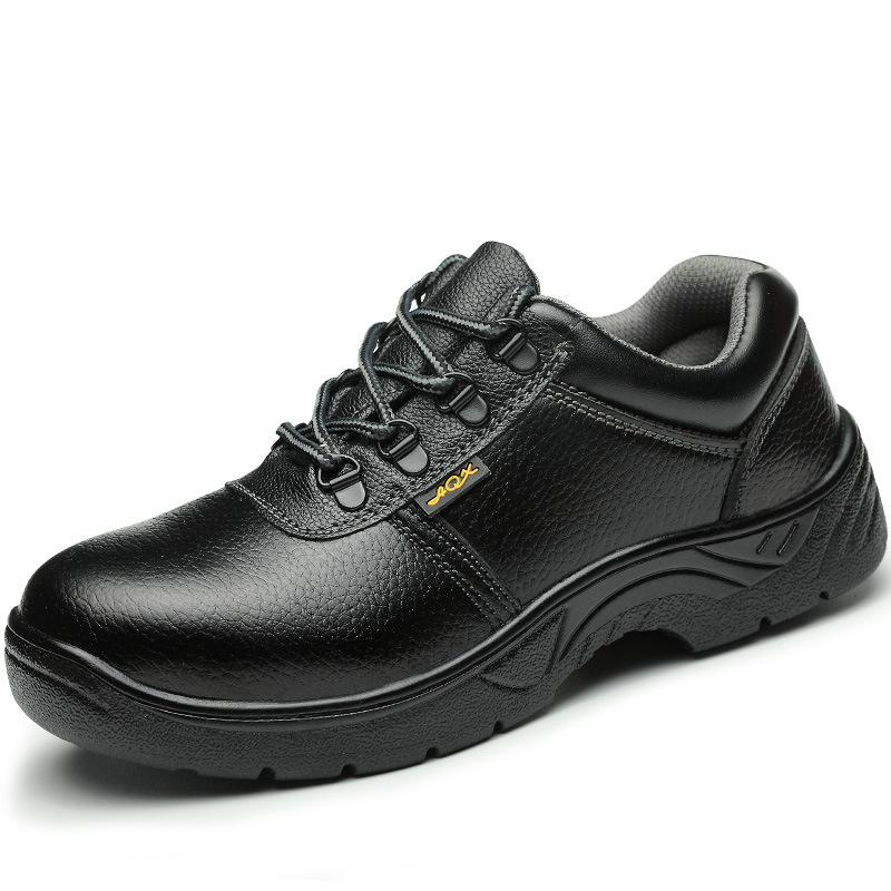 LAOGUANJIA Giày cách điện Nhà máy bảo hiểm lao động trực tiếp giày dép thoáng khí mũi thép chống đập