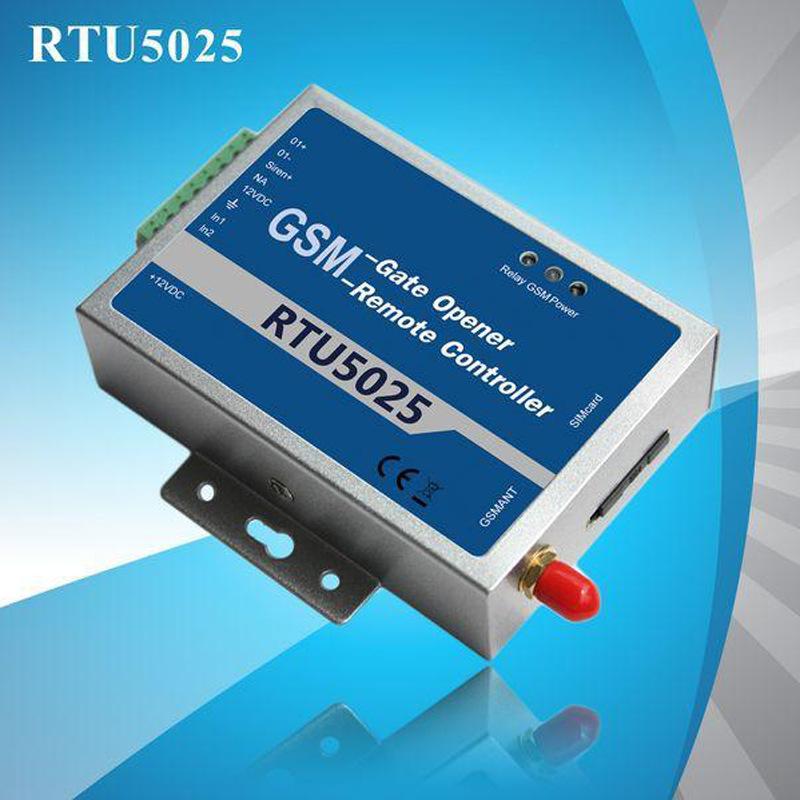 Mạch bo RTU5025 điện thoại di động điều khiển từ xa Bộ điều khiển động cơ mở cửa GSM phiên bản nâng