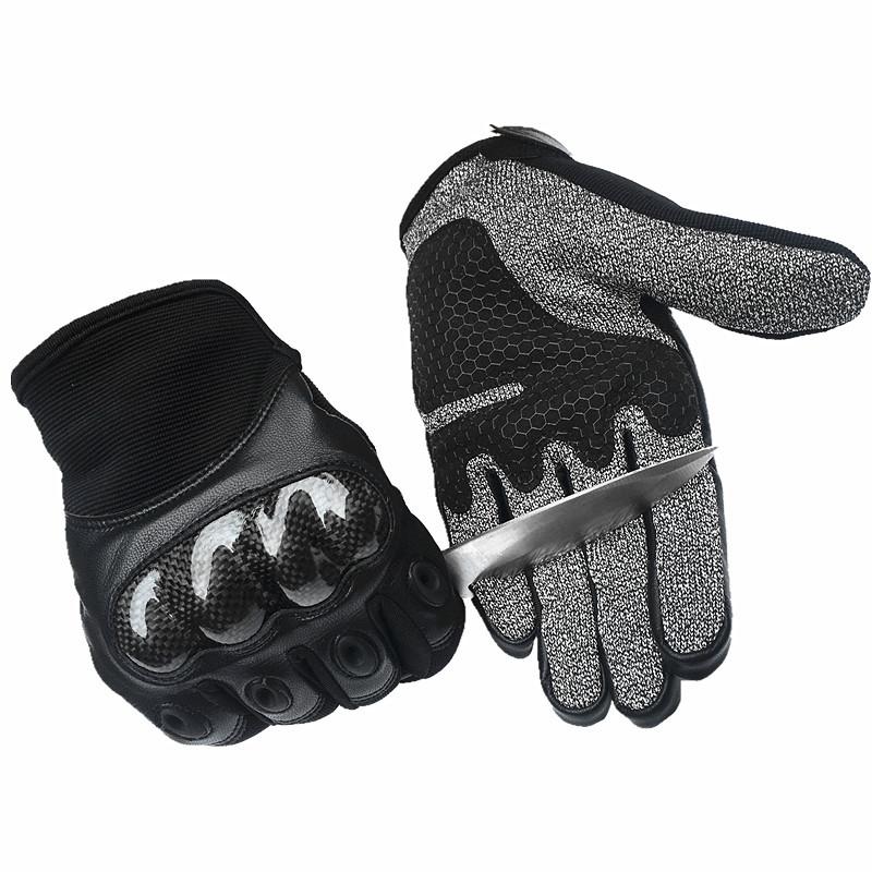 Găng tay chống cắt Nhà máy trực tiếp chiến thuật chống cắt tất cả ngón tay người đàn ông đam mê chiế