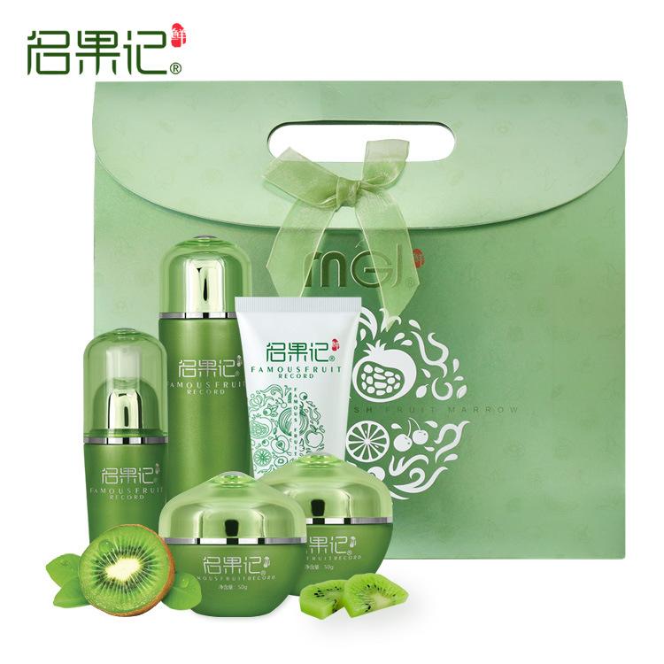 MINGGUOJI bộ sản phẩm Tên Fruit Kiwi Kết hợp dưỡng ẩm sâu 5 cái Nhà máy Cung cấp trực tiếp Chăm sóc