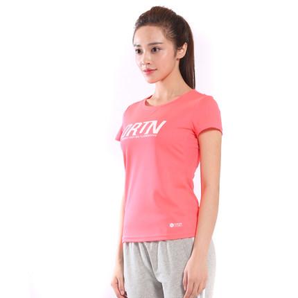 Áo thun Del Hui lady tay ngắn mùa hè mới thể thao nữ thời trang thoáng khí cổ tròn giản dị thể thao