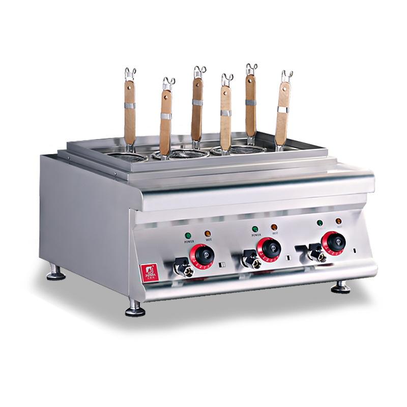 Jiasite Thiết bị nhiệt điện TM-6 , sáu bếp trụng mì .