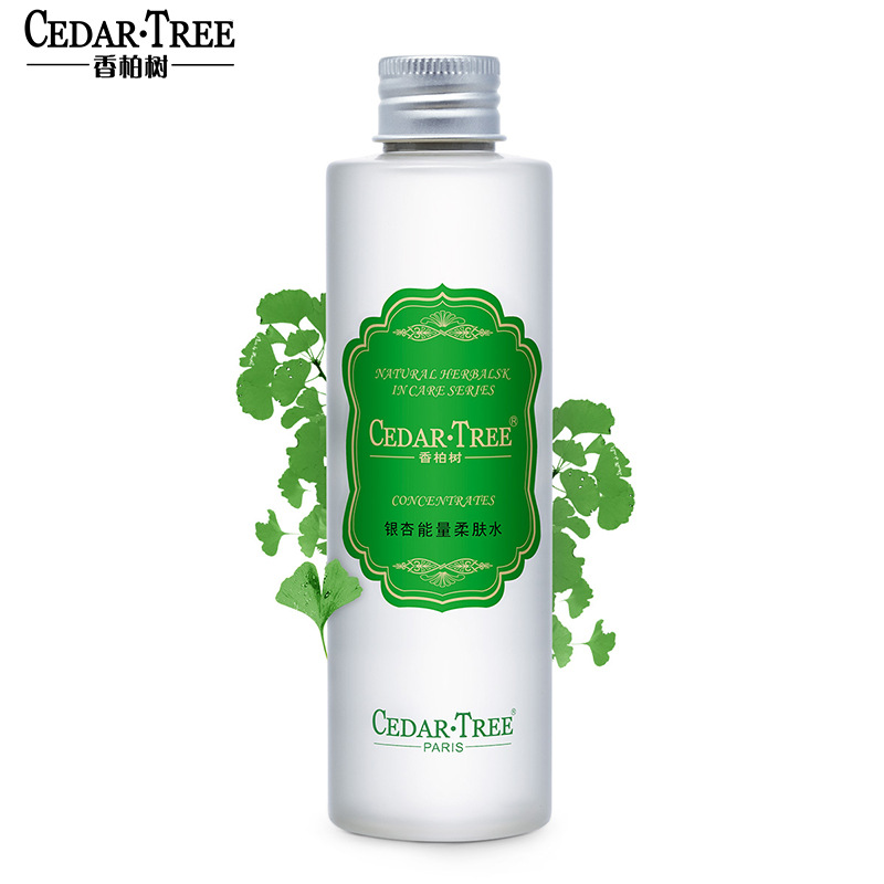 Cedar·tree Nước hoa hồng Ginkgo Toner Toner Dưỡng ẩm Nước trang điểm Lotion Kem dưỡng ẩm Khóa nước C