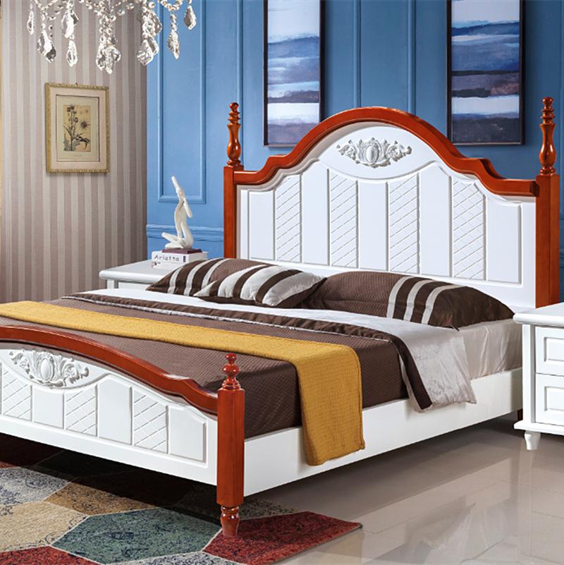 Thị trường nội thất : Bộ giường ngủ đôi thiết kế sang trọng  .