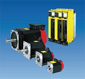 FANUC Mô-tơ Servo Hệ thống định vị Động cơ trục xoay AC FANUC A06B