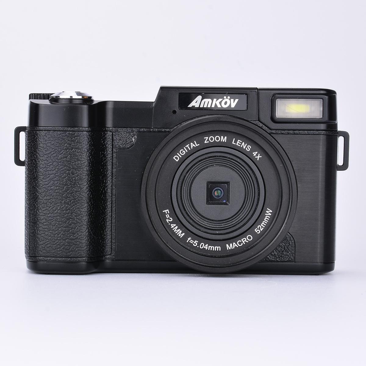 AMKOV Máy ảnh kỹ thuật số 24 triệu pixel Màn hình màu 3.0 inch Máy ảnh kỹ thuật số / máy ảnh DSLR tr