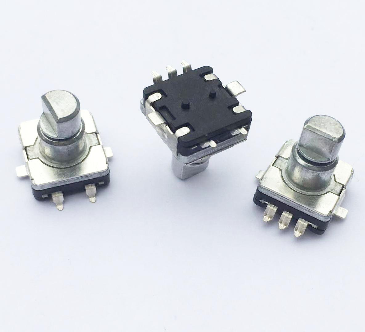 Thiết bị mã hoá Bộ mã hóa EC11 vá nhiệt độ cao với công tắc tăng áp kỹ thuật số tăng âm lượng xe núm