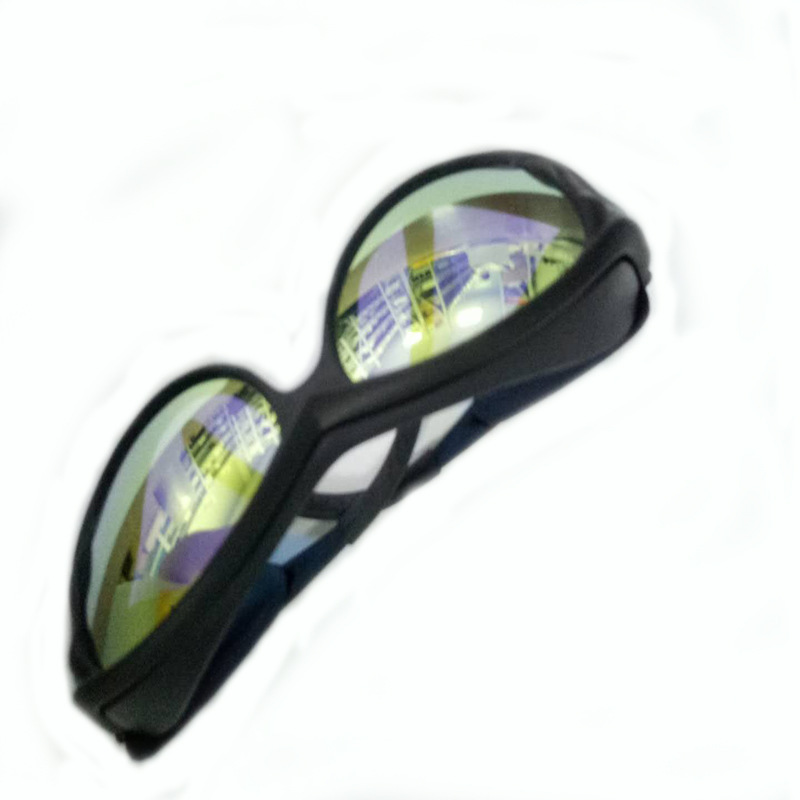 WEIMENG Kính bảo hộ Kính bảo vệ laser C02 Kính bảo vệ laser hấp thụ carbon dioxide Kính bảo hộ chuyê