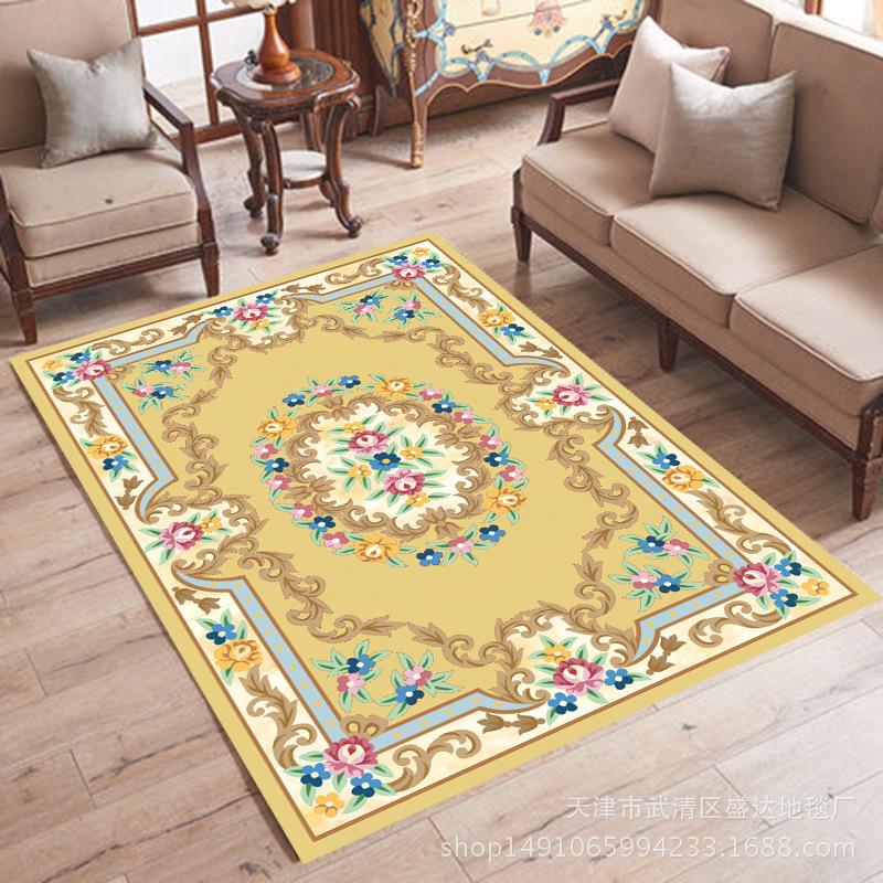 thảm lót Thảm xuyên biên giới dành riêng cho phong cách châu Âu phòng khách bàn cà phê thảm trẻ em b