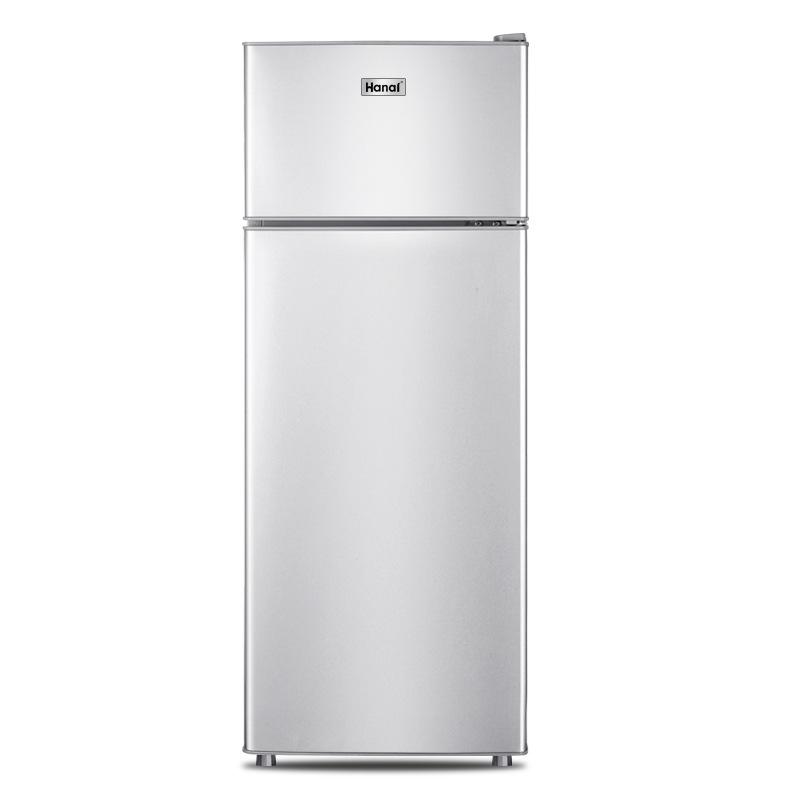 Amoi Điện gia dụng chính hãng tủ lạnh nhỏ cho thuê nhà nhỏ cửa đôi 138L Tủ lạnh ba cửa làm lạnh tiết