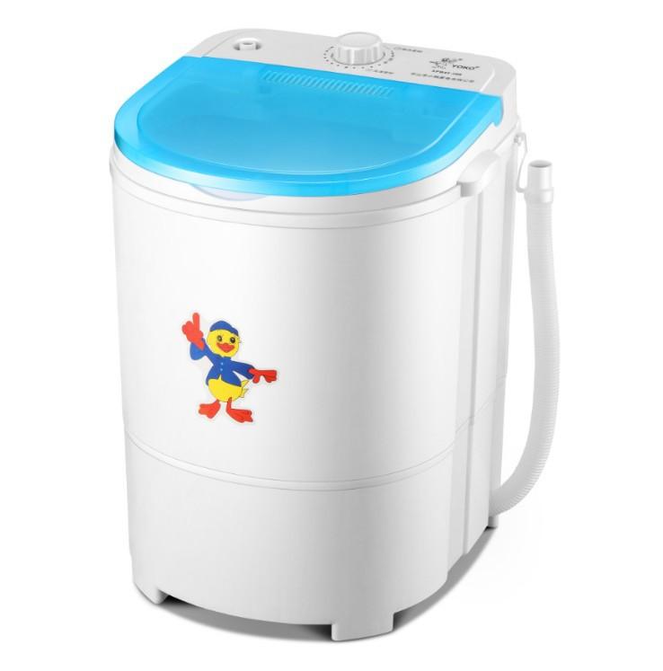 XIAOYAPAI Máy giặt quần áo trẻ em Máy giặt nhỏ riêng biệt Máy giặt mini Máy giặt nhỏ rửa giải bán tự