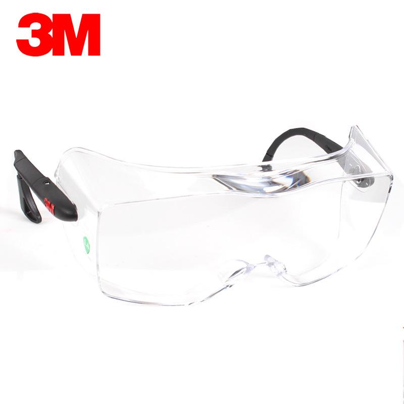 3M Kính bảo hộ phòng thí nghiệm 3M 12308 kính bảo vệ chống sương mù chống bụi cát chống gió vành đai