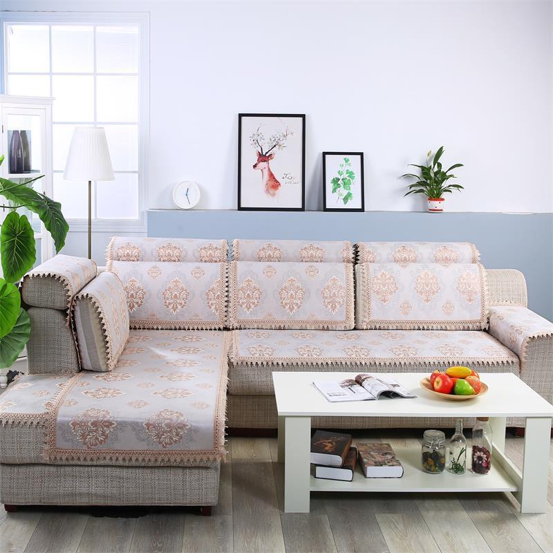 Đệm lót SoFa Nhà máy trực tiếp băng lụa mat chống trượt sofa đệm mùa hè mới đệm băng bán thành phẩm