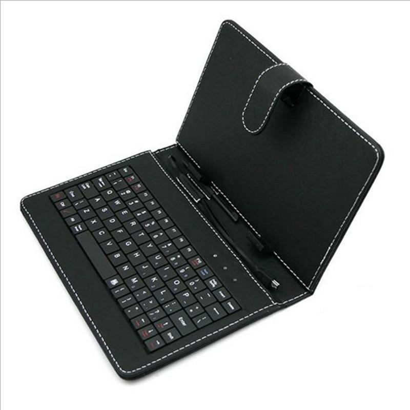 TIANGE Bao da có bàn phím cho máy tính bảng 7 inch 7,85 inch 8 inch 9 inch 9,7 inch