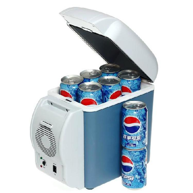 Tủ lạnh xe hơi 7.5L sưởi ấm và làm mát kép sử dụng tủ lạnh bán dẫn xe hơi mini 12V nhỏ
