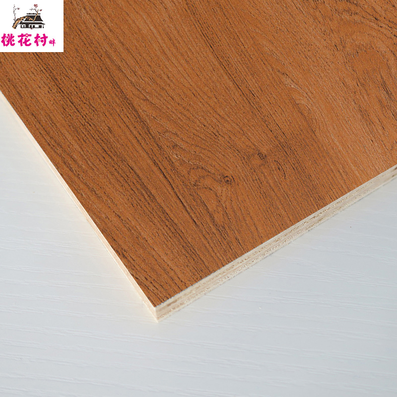 MEISEN Ván gỗ Peach Blossom Village Factory Outlet Myanmar Gold Silk Solid Wood Eco Board Bán buôn S