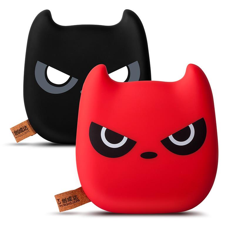CHUANGDA Pin sạc dự bị Nhà sản xuất bán buôn mèo Menglong mới dễ thương biểu hiện phim hoạt hình quỷ