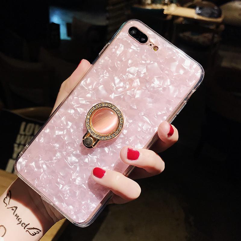 iphone   Thị trường phụ kiện di động  XR cá tính sáng tạo áp dụng x21i vỏ sò iphoneXS Max R15 6s/7pl