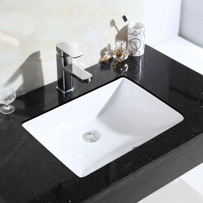 Nội Thất phòng Tắm : Bồn Rửa Mặt bằng gốm Hình Vuông  .