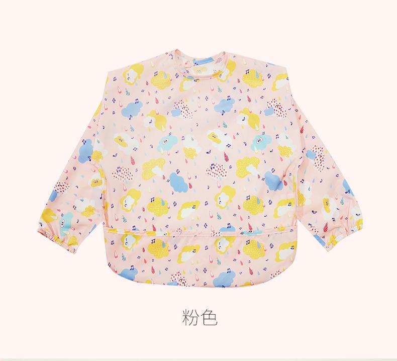 Áo khoác GB được con bé ăn mặc quần áo trẻ em chống thấm nước tạp dề vẽ em bé cái yếm áo choàng dài