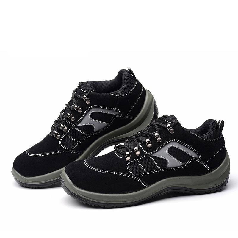 SHENGAO Giày cách điện Nhà máy trực tiếp Shengao nam thép mũi giày an toàn lao động giày bảo hiểm la