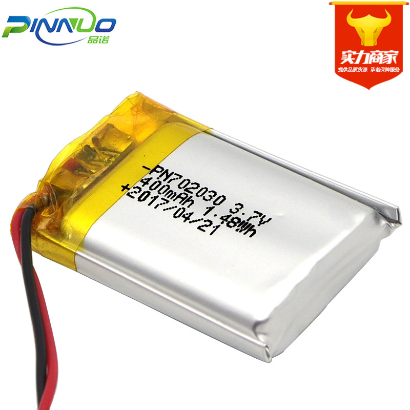 PINNUO Pin Lithium-ion Pin lithium pin 702030-400mAh có thể sạc lại pin lithium pin bán buôn pin pol