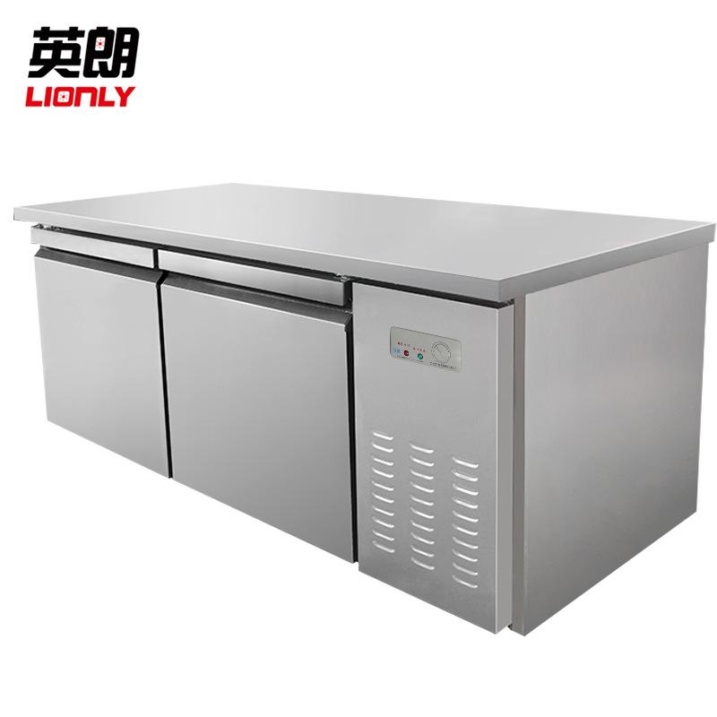 LIONLY Tủ lạnh Bàn làm việc bằng thép không gỉ nhà bếp