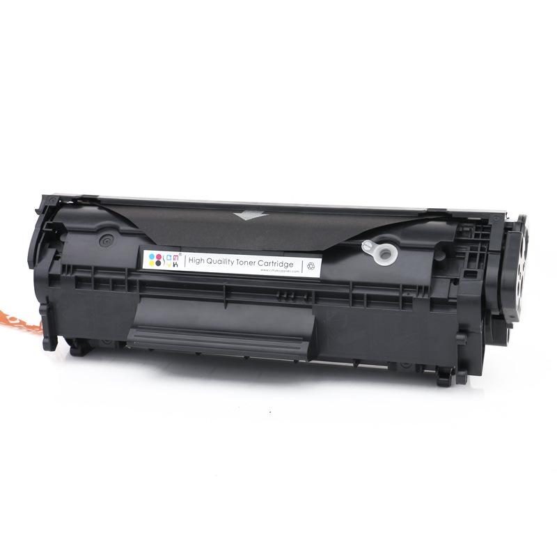 CMYK Hộp mực than cho trống sấy HP 12A HP m1005 1020 1010 1018 Q2612A dễ dàng thêm hộp mực