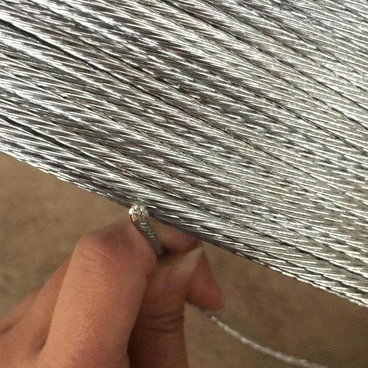 Dây cáp Cung cấp bán hàng trực tiếp thép carbon cao nhúng thép mạ kẽm sợi dây cung cấp sợi thép