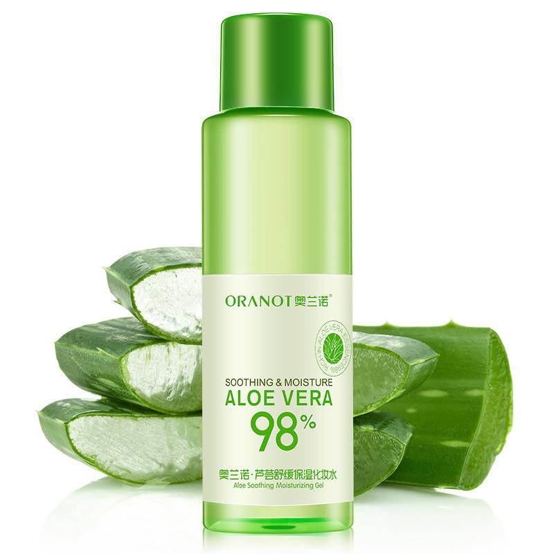 ORANOT Nước hoa hồng Aloe Vera dưỡng ẩm giữ ẩm dưỡng ẩm phục hồi làm dịu dầu làm dịu lỗ chân lông Th