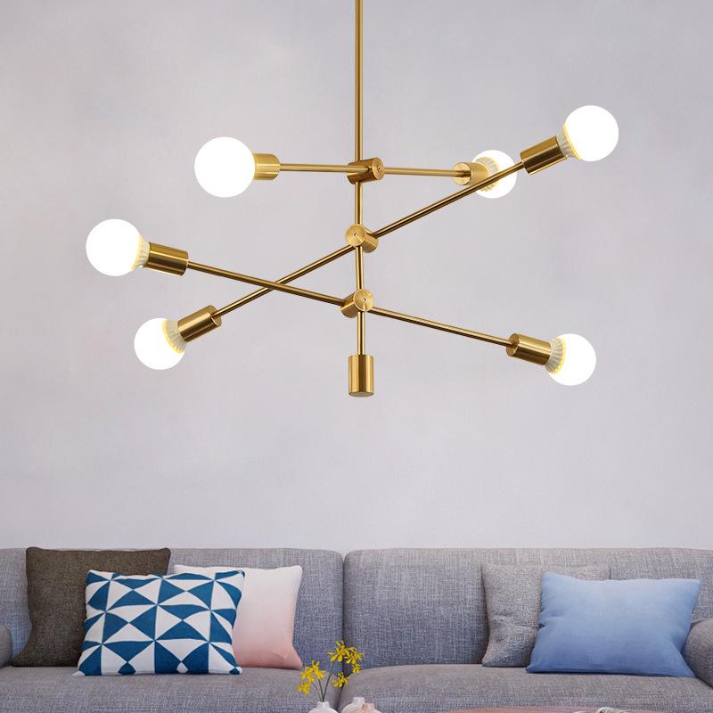 Đèn treo trần - đèn chùm trang trí Phong cách sáng tạo .