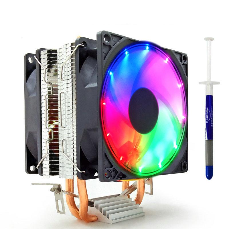 COOLMOON - Bộ tản nhiệt CPU siêu yên tĩnh 775 Intel AMD1155