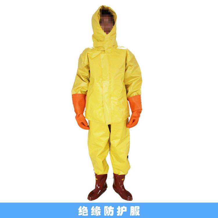 WEITE Trang phục bảo hộ Thiết bị cách nhiệt chống cháy PVC, năng lượng mới, thợ điện, quần áo bảo hộ